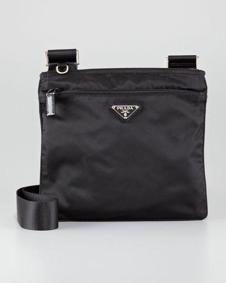 66c48bc83da0 Prada Vela Crossbody Gofer Bag in Black (nero)