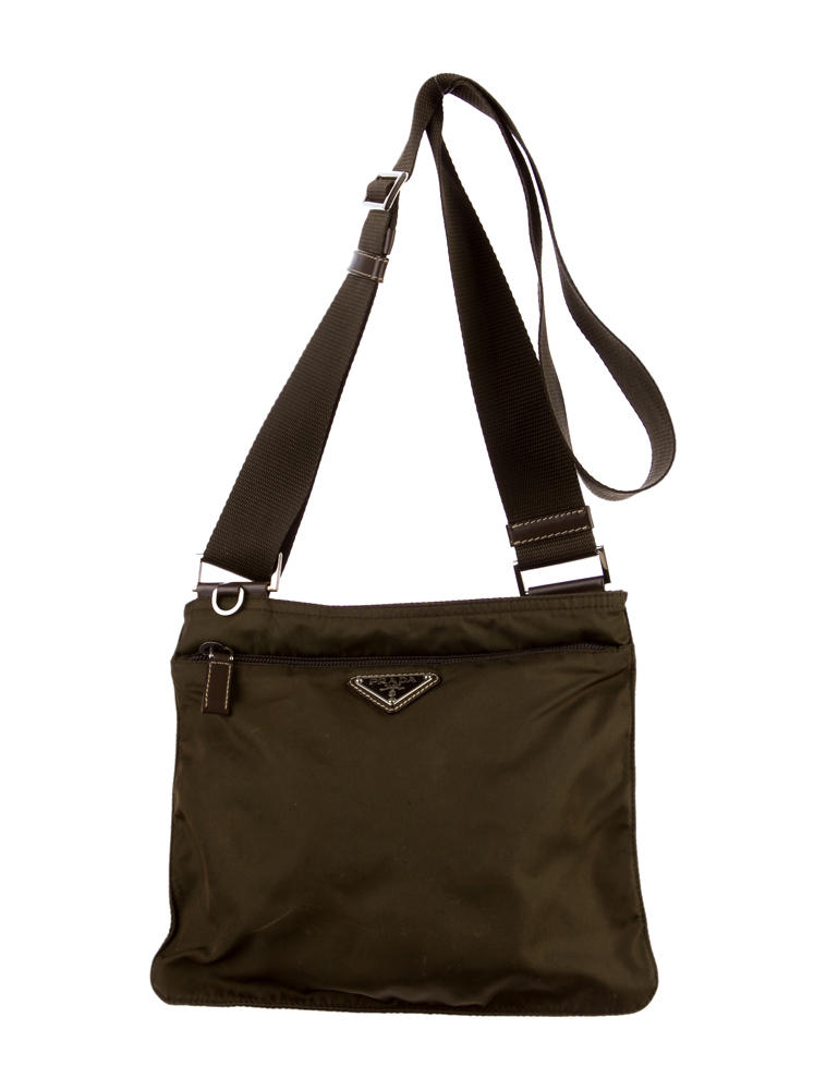 90fb2956c9 Prada Vela Crossbody Bag. Prada Woman s Vela Flat Crossbody Bag Black.