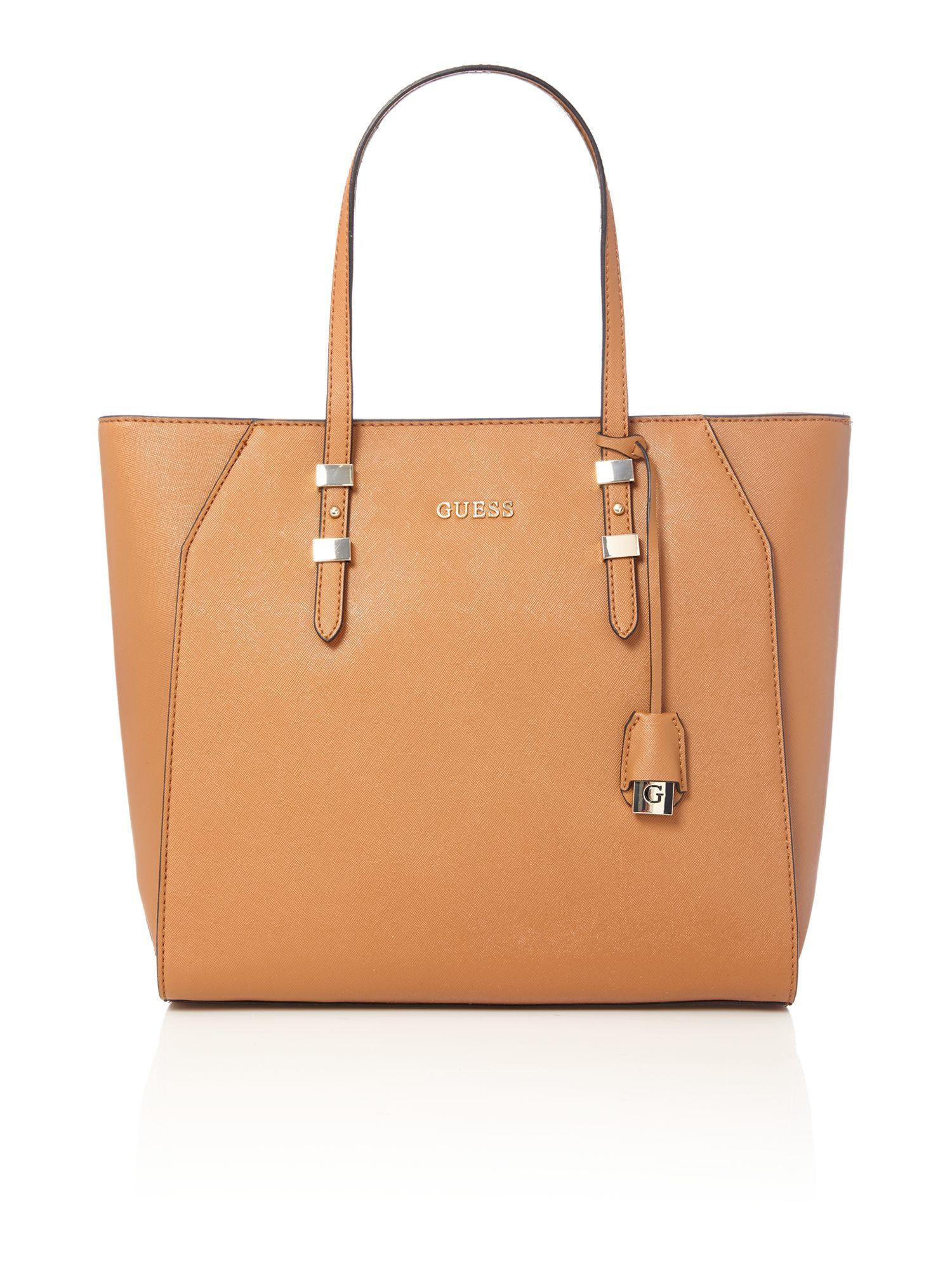 d49a2300582c GUESS bags. GUESS Kamryn Saffiano Tote Bag